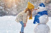 Zimowe zabawy z dzieckiem