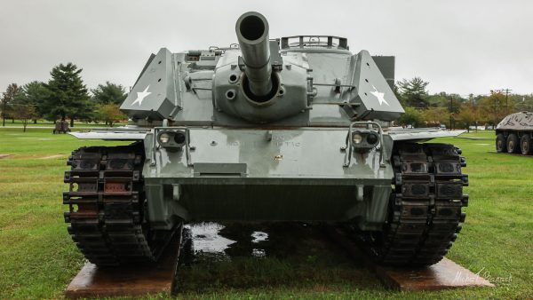 MBT-70 w United States Army Ordnance Museum w 2011 roku (fot. Michał Banach)