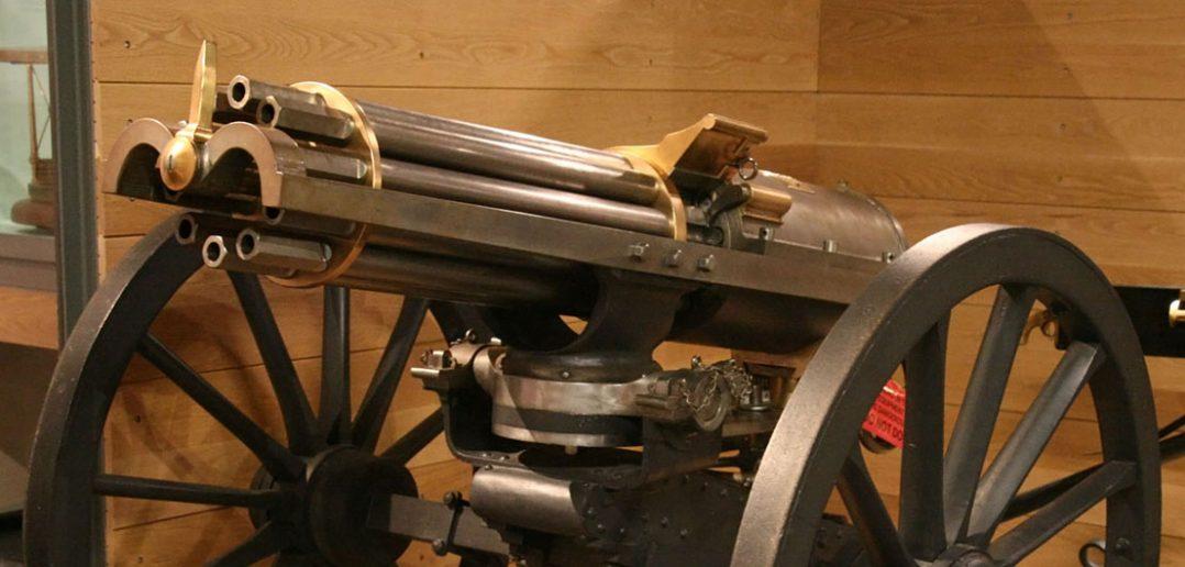 Kartaczownica Gatlinga - pierwszy (prawie) karabin maszynowy