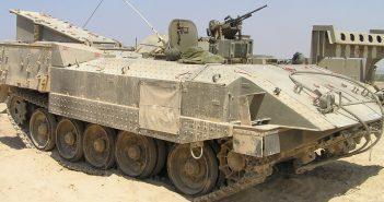Achzarit - izraelski ciężki transporter opancerzony