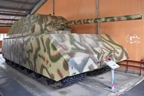 Panzerkampfwagen VIII Maus (fot. Alan Wilson)