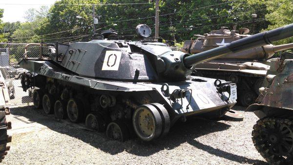 Jeden z prototypów MBT-70