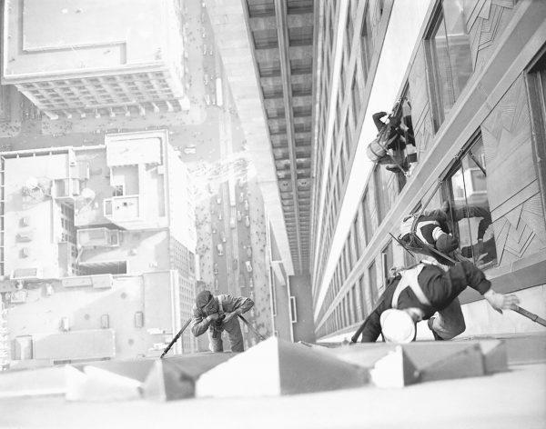 Tak wyglądało mycie okien na Empire State Building w 1932 roku