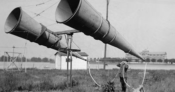 Zanim wymyślono radar - przeciwlotnicze stacje nasłuchowe
