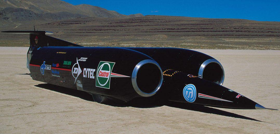 ThrustSSC - samochód, który ustanowił rekord prędkości na lądzie