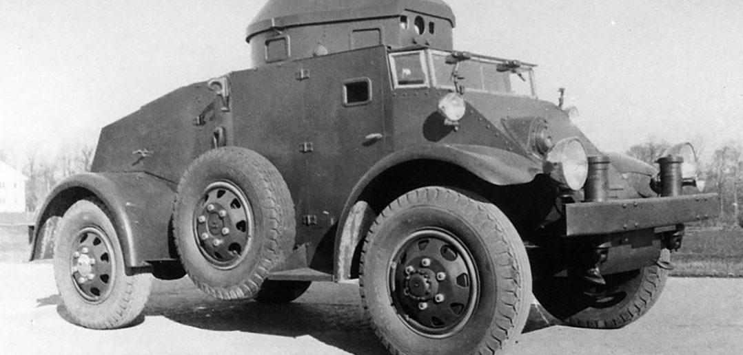 Zapomniany amerykański samochód pancerny T11E1