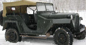 GAZ-67 - radziecki jeep