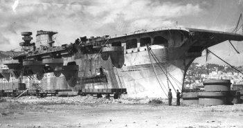Aquila - od liniowca po (niedokończony) pierwszy włoski lotniskowiec