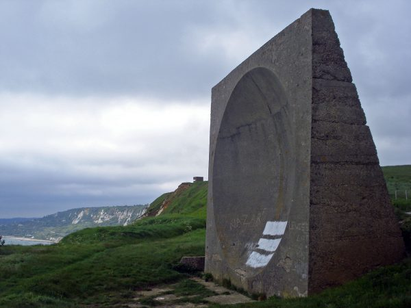Pozostałości betonowego stanowiska nasłuchowego - Wielka Brytania (fot. Diamond Geezer/Flickr.com)