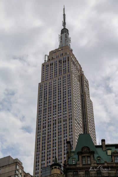 Iglica Empire State Building (fot. Michał Banach)