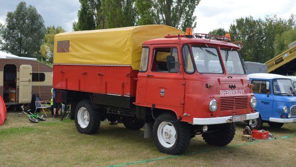 Ciężarówka Robur (fot. Torsten Maue)