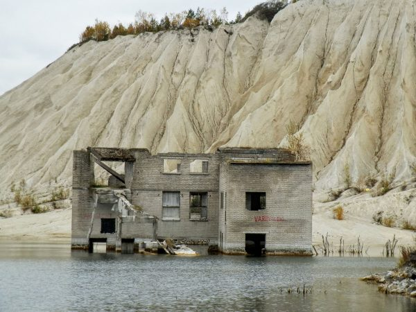 Ruiny kamieniołomu Rummu (fot. Rita Helisma)