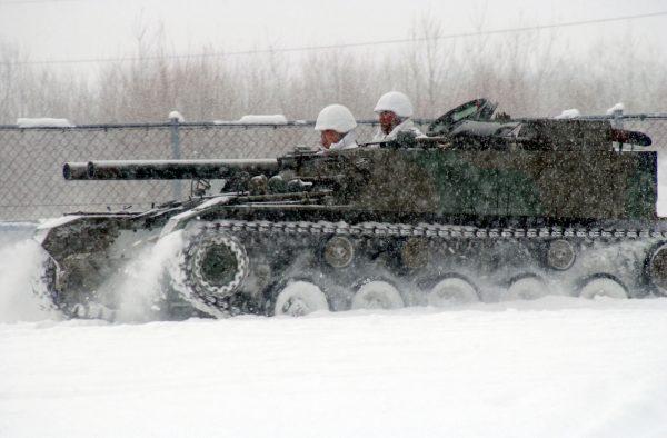 Niszczyciel czołgów Type 60 (fot. Wikimedia Commons)