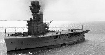 HMS Hermes - pierwszy brytyjski lotniskowiec zbudowany od podstaw