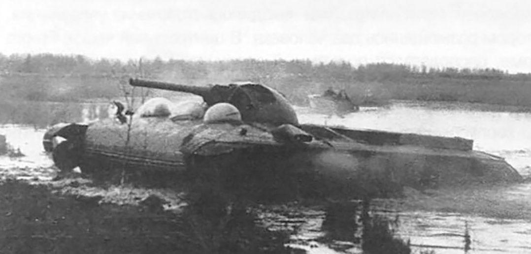 Obiekt 760 - radziecki eksperymentalny czołg-poduszkowiec