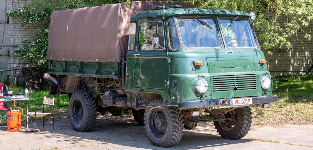 Made in NRD - ciężarówki Robur