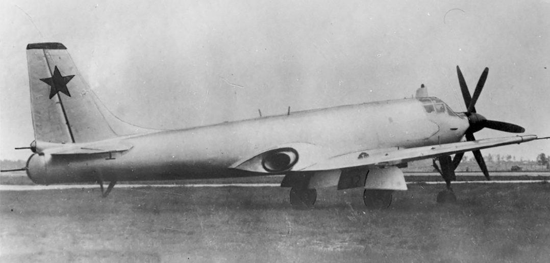 Tupolew Tu-91 - prototypowy, radziecki, pokładowy samolot szturmowy