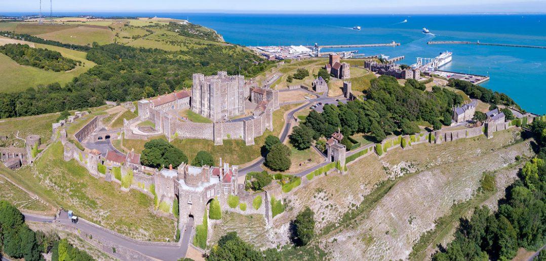 Zamek Dover - największy angielski zamek