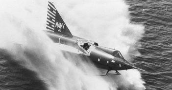 Convair F2Y Sea Dart - najszybszy wodnosamolot w historii