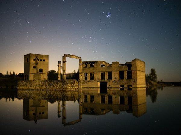 Ruiny kamieniołomu Rummu (fot. Janno Kusman)
