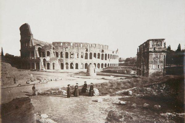 Koloseum około 1870 roku