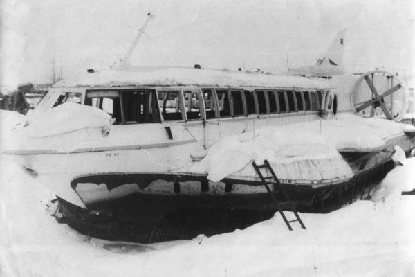 Wrak poduszkowca pasażerskiego Sormowicz