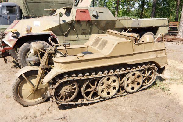 Sd.Kfz.2 Kettenkrad (fot. Flickr.com)