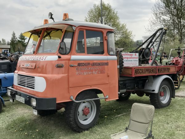Ciężarówka Robur (fot. Wikimedia Commons)