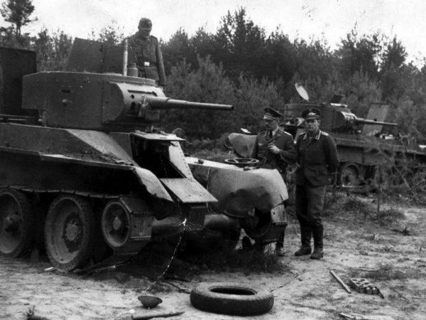 Wrak BT-5