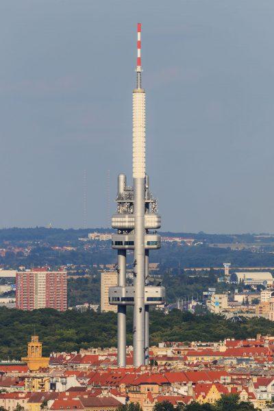Wieża telewizyjna Žižkov (fot. A.Savin)