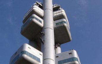 Wieża telewizyjna Žižkov w Pradze
