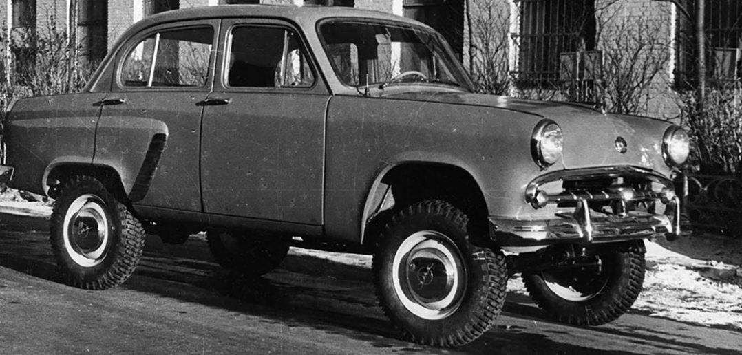 Moskwicz 410 - radziecki terenowy sedan