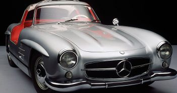 Legendarny Mercedes-Benz 300SL Gullwing