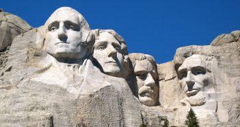 Mount Rushmore - niesamowity pomnik wykuty w skale
