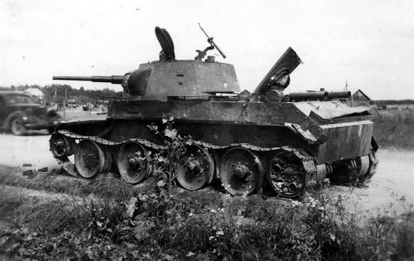 Wrak BT-7