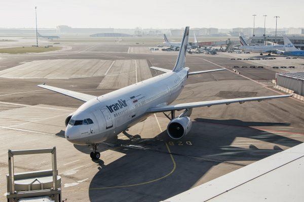 Iran Air Airbus A300B4-605R (fot. Roel Hemkes)
