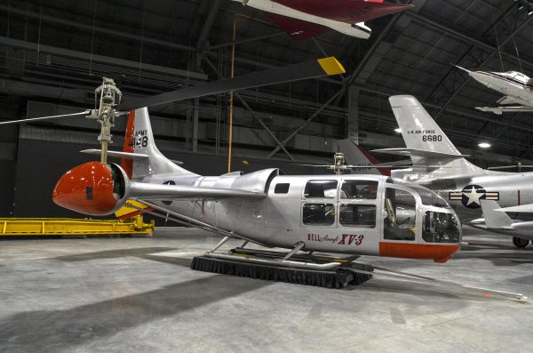 Bell Helicopter XV-3 (fot. National Museum of the United States Air Force)