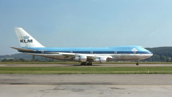 Boeing 747-206B (PH-BUF) KLM (fot. Wikimedia Commons)