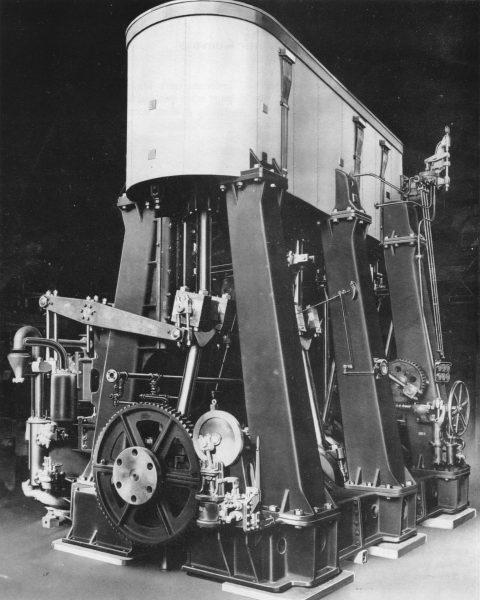 Silnik instalowany w statkach typu Liberty