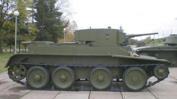 BT-5 współcześnie (fot. Wikimedia Commons)