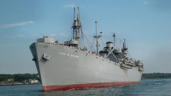 SS John W. Brown współcześnie