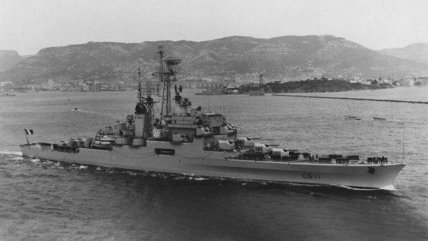 Colbert jako krążownik przeciwlotniczy