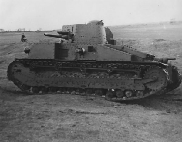Vickers Medium Mk. D