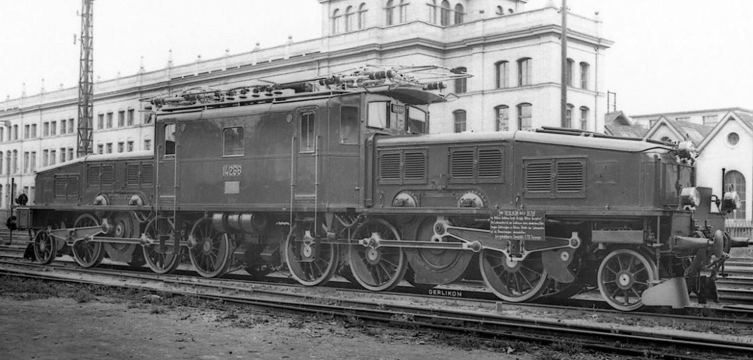 Krokodyle - szwajcarskie lokomotywy elektryczne Ce 6/8 II i Be 6/8 II