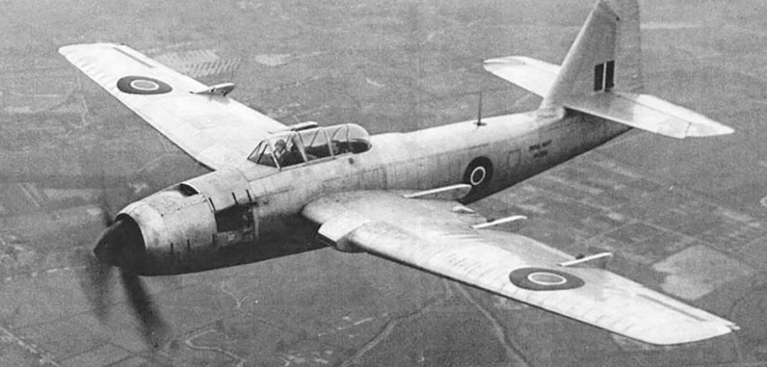 Zapomniany brytyjski bombowiec Fairey Spearfish
