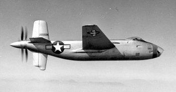 Zapomniany bombowiec Douglas XB-42 Mixmaster