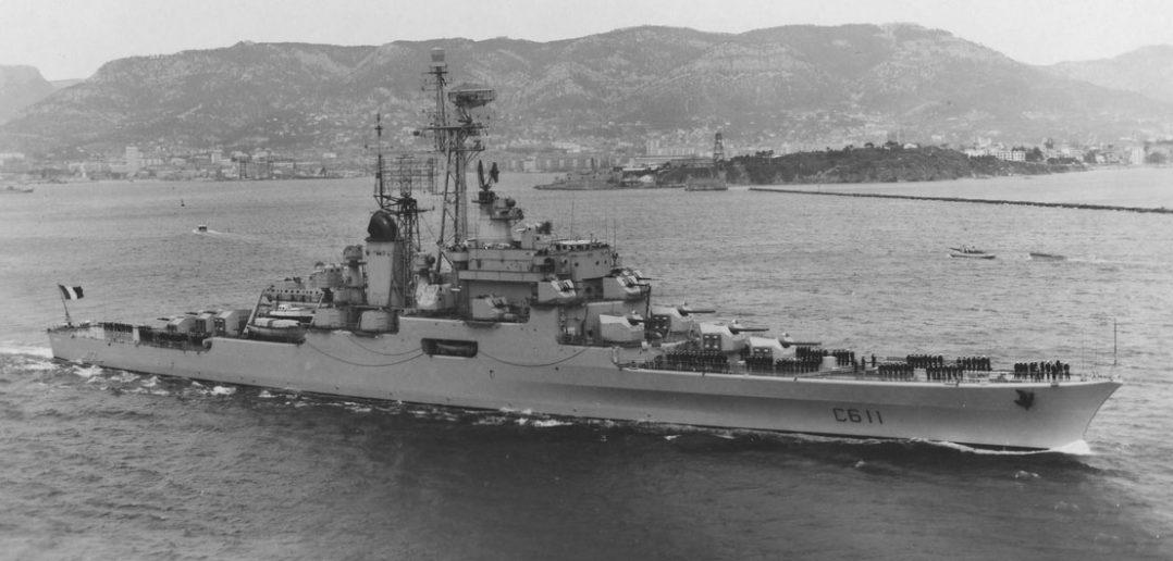Ostatni francuski krążownik - Colbert