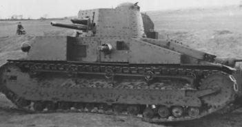 Vickers Medium Mk. D - pierwszy irlandzki czołg