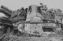 Gun Carrier Mark I - pierwsze w historii działo samobieżne