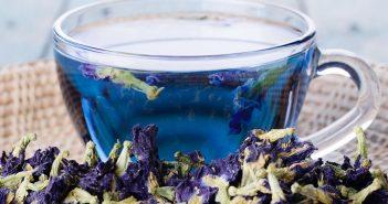 Herbata niebieska - czy atrakcyjny wygląd to jedyna jej zaleta?